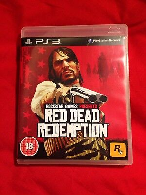 Red Dead Redemption PS3 Game Rockstar Games Sony PlayStation 3