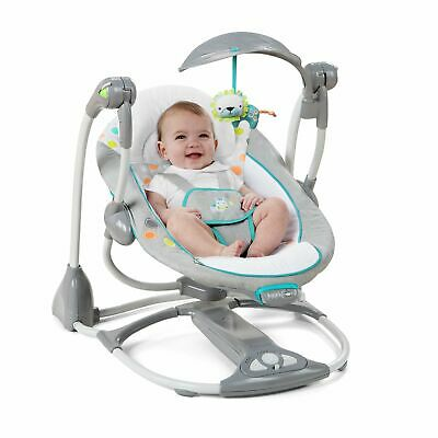 Ingenuity ConvertMe Swing-2-Seat Portable Swing For Baby - Ridgedale Gray