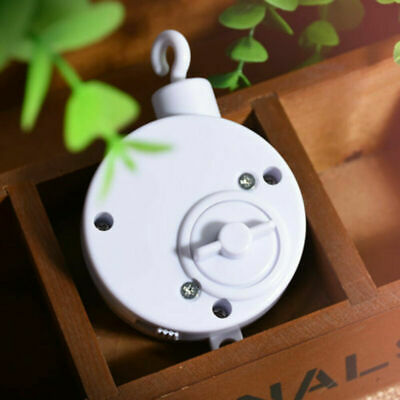 Rotary Baby Cot Mobile Crib Bed Bell Toy Wind-up Music Box Infant DIY Hanging UK