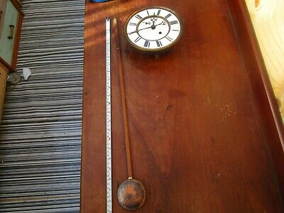 Complete wall clock movement and dial ETC