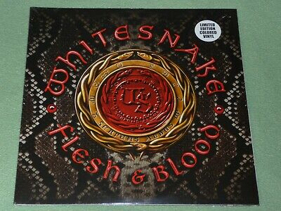 WHITESNAKE Flesh & Blood 2LP Gatefold RED VINYL LIMITED 250 Copies NEW SEALED EX