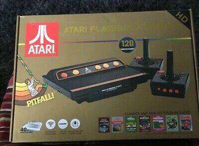 ATARI RETRO 40thANNIVERSARY FLASHBACK 8 GOLD WITH 120 BUILT-IN GAMES IN HDMI.