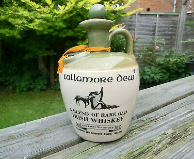 Tullamore Dew Irish Whiskey Whisky Flagon Jug