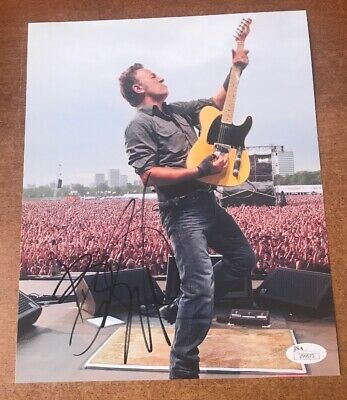 Bruce Springsteen Authentic Signed 8x10 Photo Autographed JSA LOA WOW