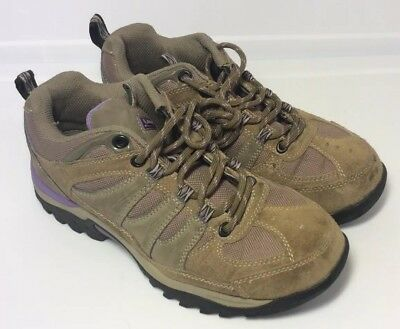 0731dd70ad4 NEW WOMENS COLEMAN Alder Low Ankle Leather Suede Hiking Boots Taupe ...