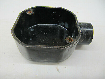 Vintage Antique Small Cast Iron Electrical Box