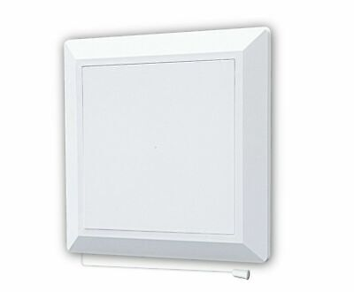 Duct Access Panel 174mm x 174mm with 125mm Flange and Fly Screen Vent Door