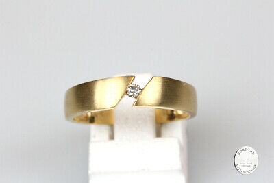 Ring 8 Carat Gold with Diamond Band Ring Gold Ring Jewelry Diamond