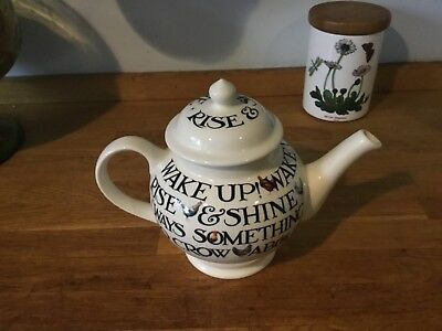 Emma Bridgewater Hen & Toast Three Mug Tea Pot - New