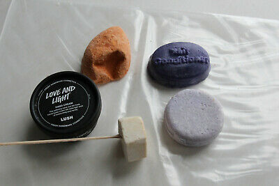Lush Bundle Hair, Feet & Hands Pumice Soap Solid Shampoo Conditioner Hand Cream
