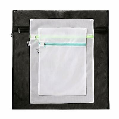 Eono Essentials Mesh Laundry Bags - Pack of 5 (1 Extra Large, 2 Large & 2 Med)
