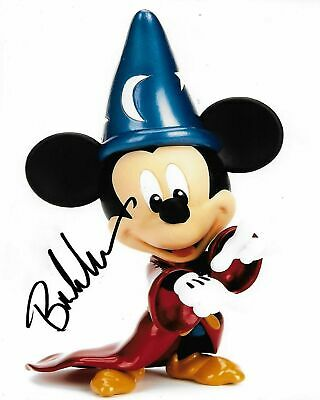 Voice Of Mickey Mouse Bret Iwan Signed Photo 8x10 COA