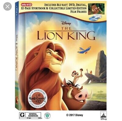 Disney The Lion King (Blu-ray/DVD/Digital) Signature Collection Target Exclusive