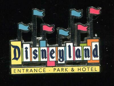 Disneyland Park Marquee Flair Icons Disney Pin