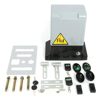 Sliding Electric Gate Opener 2000KG Automatic Motor Remote Kit Heavy Duty 6M