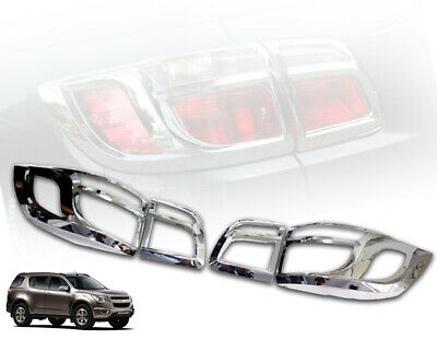 FITT CHROME TAIL REAR BUMPER PROTECT TRIM FOR NEW CHEVROLET TRAILBLAZER 2012-14