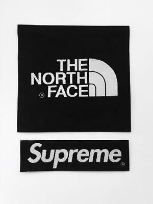The North Face X Supreme Black Arm Patch TNF Sew On/Glue/Jacket Or Fleece/more