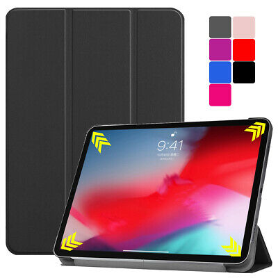 """For iPad Pro 11"""" Inch 2018 Magnetic Ultra-thin Leather Smart Folio Case Cover"""