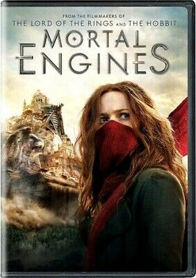 Mortal Engines (DVD, 2019)  w/Bonus Features New Sealed Free Shipping