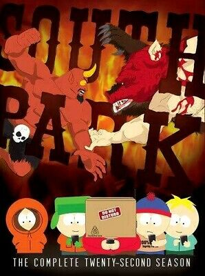 South Park: The Complete Twenty-Second Season [New DVD] Season 22 New SEALED