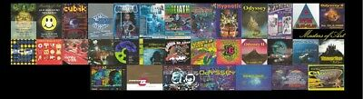 Gugelmann Areal Rave Party Flyers!! COMPLETE COLLECTION!
