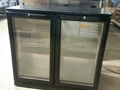 FED C2H840 2 Door Bar Fridge Used condition