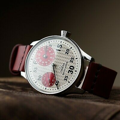 Omega marriage watch swiss movement mens vintage watch mechanical rare stroke
