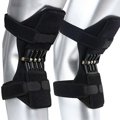 2 Pairs POWER LEG Kneepad NEW -Power Joint Support Knee Pads Spring Force 2019