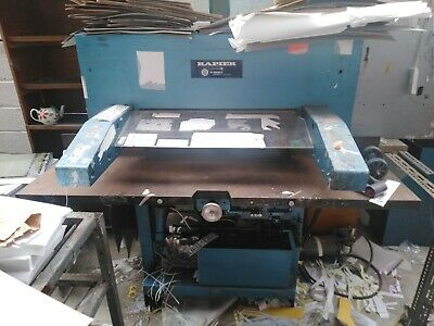 B2 Guillotine For Refurbishment or Parts Only.