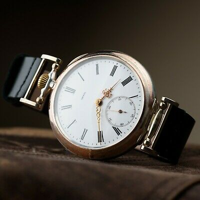 Vintage wristwatch Omega antiques swiss move mens mechanical watch marriage gift