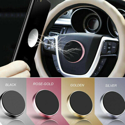In Car Magnetic Phone Holder Fits Dashboard Universal Mount Various Colours UK