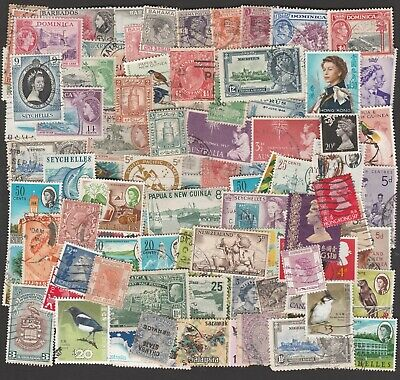 British Colonies & Commonwealth Large Collection Of Stamps (100)