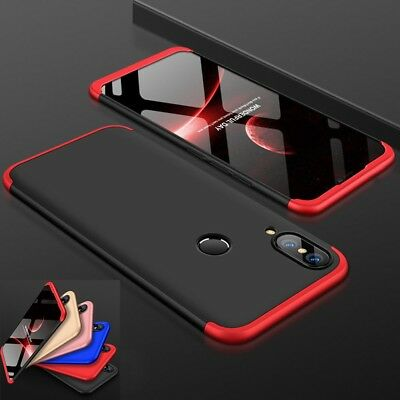 360 Shockproof Case Slim Cover+Tempered Glass For Huawei P20 P30 Lite Pro Psmart