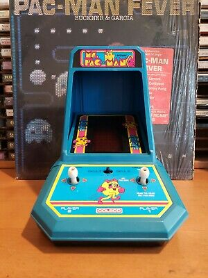 Coleco electronic tabletop mini arcade ms pac man game, refurbished!