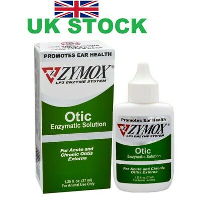 Zymox Otic NO HC  dog/cat pet ear treatment 1.25Oz FAST SHIPPING