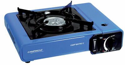 Campingaz Camp Bistro 2 Stove 2200w Camping Cooking / Blue- Black