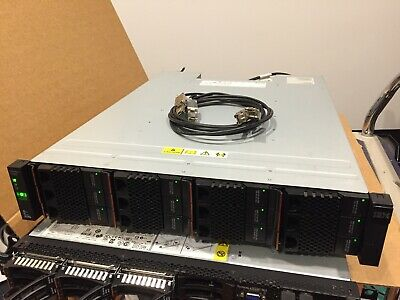 IBM Storwize V7000 SAS HDD array - 24TB raw capacity (12x 2TB drives)