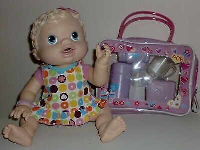 Changing Time Baby Alive Interactive Doll with Accessory Bag
