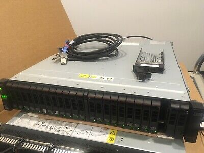 IBM Storwize V7000 SAS HDD array - 12.6TB raw capacity (21x 600GB drives)