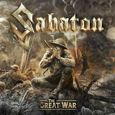 SABATON The Great War  CD neues Album 19.07. 2019 NEU & OVP