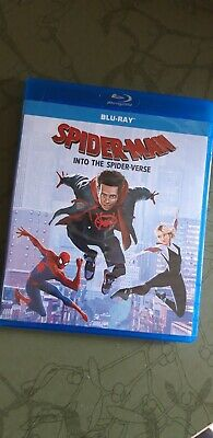 Spider-Man: Into the Spider-Verse [Blu-Ray] New & Sealed Region Free