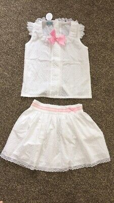 Designer Spanish girls outfit set romany skirt age 7 Nini Lmr Belcoquet