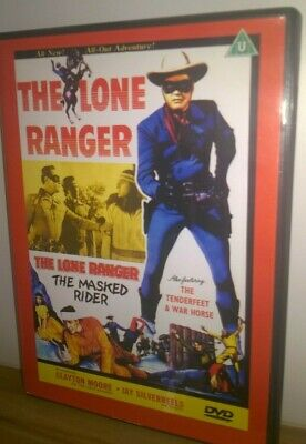 The Lone Ranger - The Masked Rider (DVD)