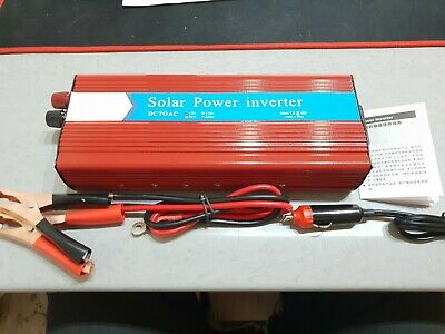 Convertisseur de tension 12V - 220V 5000W Power Inverter *NEUF*