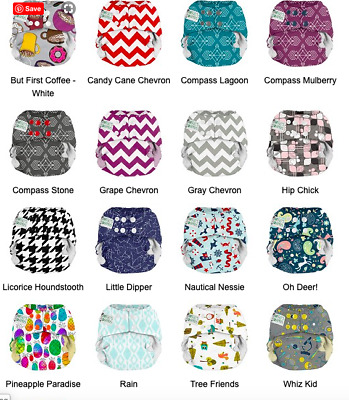 3 Or 5 Pack Lot Of Gently Used Cloth Diapers For Sale-Prints