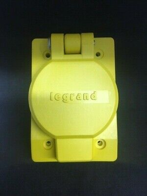 Legrand Pass & Seymour Locking Watertight Single Receptacle Yellow FREE SHIPPING