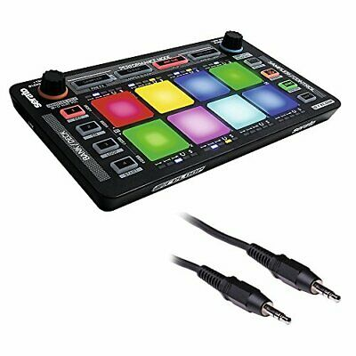 Reloop NEON USB Modular FX Controller for Serato with Cable (Black) 3'