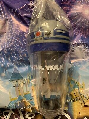 Disney Disneyland Star Wars Galaxy's Edge R2-D2 Sipper Cup with Lights & Sounds