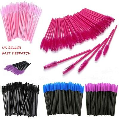 50/100PCS Disposable Mascara Wands Eyelash Brushes Lash Extension Applicator