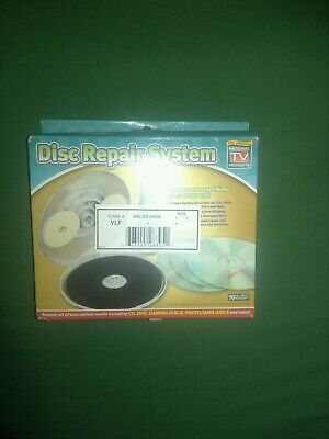 DVD & CD Manual Disc Repair System Accessories